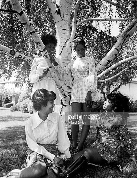 MAY 23 1972 JUN 11 1972 Debs preparing for the Owl Club Debutante Ball include from left standing Annita Menogan and Billetta Burleson and from left...