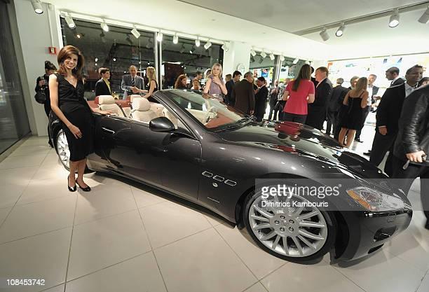 US Debut of the Maserati GranTurismo Convertible at Maserati Showroom on October 15 2009 in New York New York
