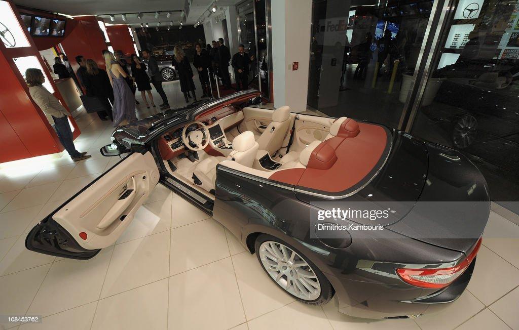 U.S. Debut Of The Maserati GranTurismo Convertible : News Photo
