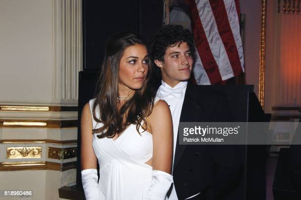 Debutante and Escort attends 69th ANNUAL BAL des BERCEAUX honoring CARTIER at The Plaza on May 7 2010 in New York City
