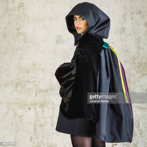 Debutante Melusine Ruspoli is photographed at a fashion shoot for Town Country Magazine on July 13 2013 in Paris France PUBLISHED IMAGE