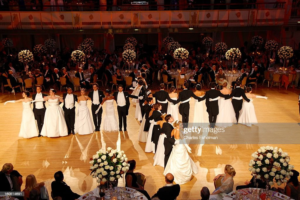 Debutante presentation at The 58th Annual Viennese Opera Ball at The Waldorf=Astoria on February 1, 2013 in New York City.