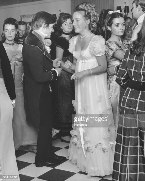 Debutante Princess Olga Andreevna Romanoff, at her coming-out ball at the Dorchester Hotel, London, 29th June 1968.