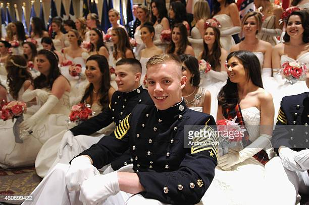 Debutantes and guests attend the 60th International Debutante Ball at The Waldorf=Astoria on December 29 2014 in New York City