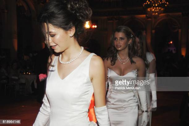 Debutantes attends 69th ANNUAL BAL des BERCEAUX honoring CARTIER at The Plaza on May 7 2010 in New York City
