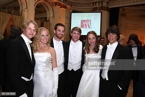 Debutantes attends FRENCHAMERICAN AID FOR CHILDREN SixtySeventh Annual BAL des BERCEAUX at Plaza Hotel on May 2 2008 in New York City
