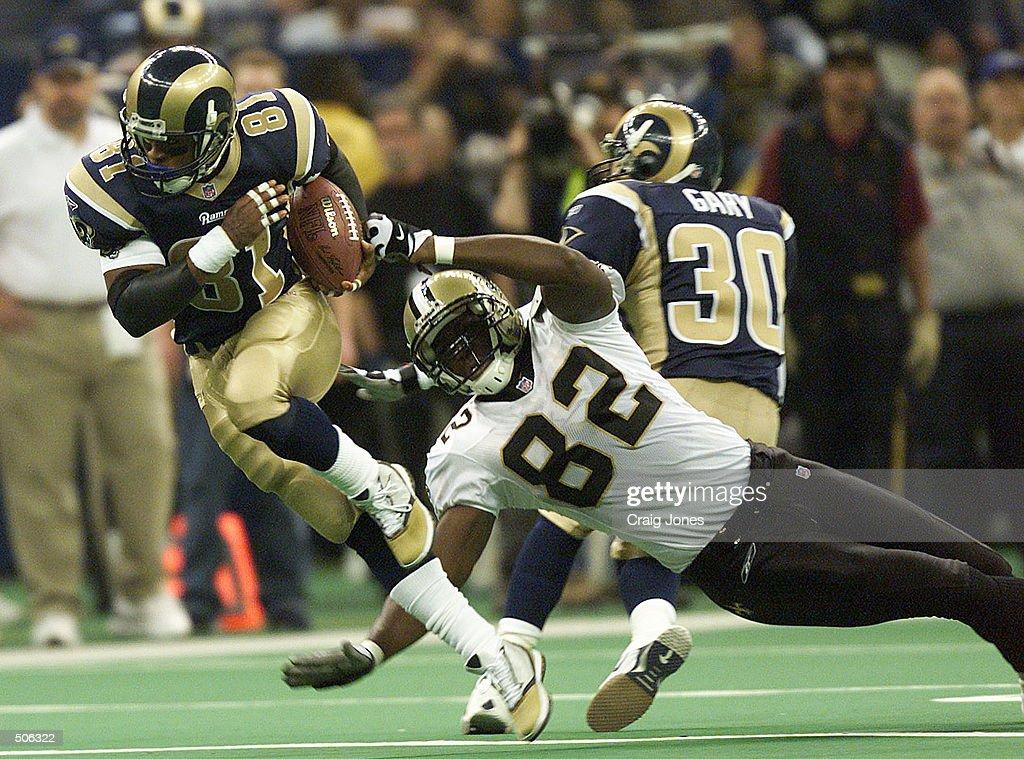 Rams v Saints X Hakim : News Photo