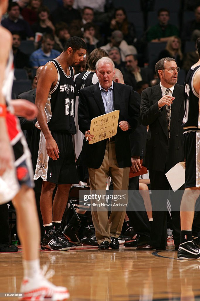 NBA: Spurs vs Bobcats 96-76 : News Photo