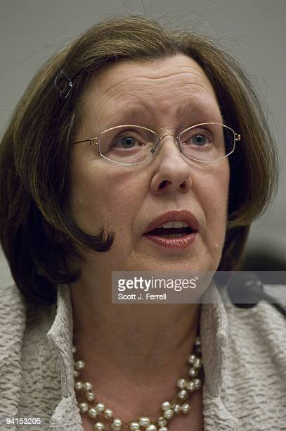 Molly Sheehan senior vice president at Chase Home Finance during the House Financial Services hearing on the response to the mortgage foreclosure...