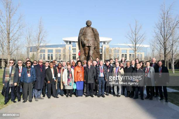 BEIJING Dec 1 2017 Some leaders of foreign parties who are here to attend the Communist Party of China in Dialogue with World Political Parties...
