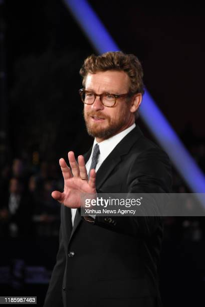 Dec. 1, 2019 -- Actor Simon Baker attends the tribute to French director Bertrand Tavernier during the 18th Marrakech International Film Festival in...