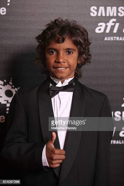 Dec 12 2009 Melbourne Victoria Australia Actor Brandon Walters arrives for the 2009 Samsung Mobile AFI Awards at the Regent Theatre on December 12...