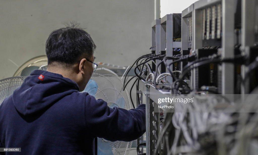 South Korea Bitcoin Industry : News Photo