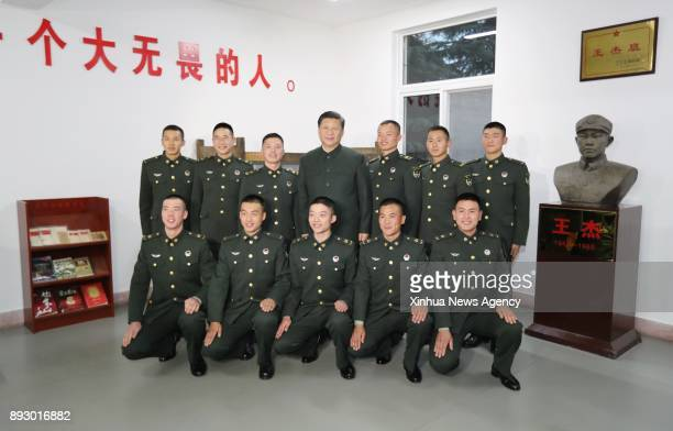 XUZHOU Dec 14 2017 Chinese President Xi Jinping also general secretary of the Communist Party of China Central Committee and chairman of the Central...
