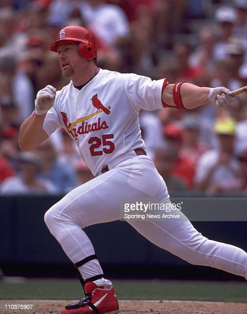 Dec 17 2007 New York New York USA MARK MCGWIRE is one of 89 players named in the Mitchell Commission report on steroid use in Major League Baseball...
