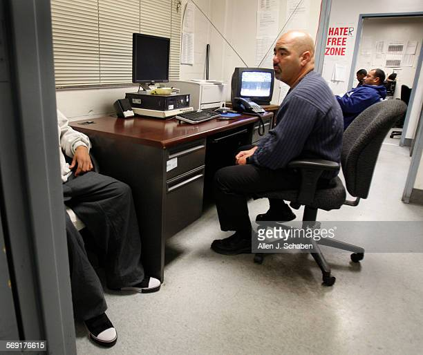 Dec. 17, 2008: Long Beach Poly Coach Raul Lara often pulls double duty as a football coach and probation officer, leaving for work after games on...