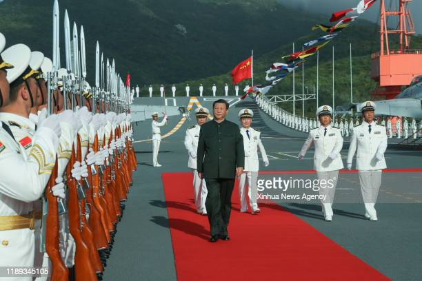SANYA Dec 17 2019 Chinese President Xi Jinping also general secretary of the Communist Party of China Central Committee and chairman of the Central...