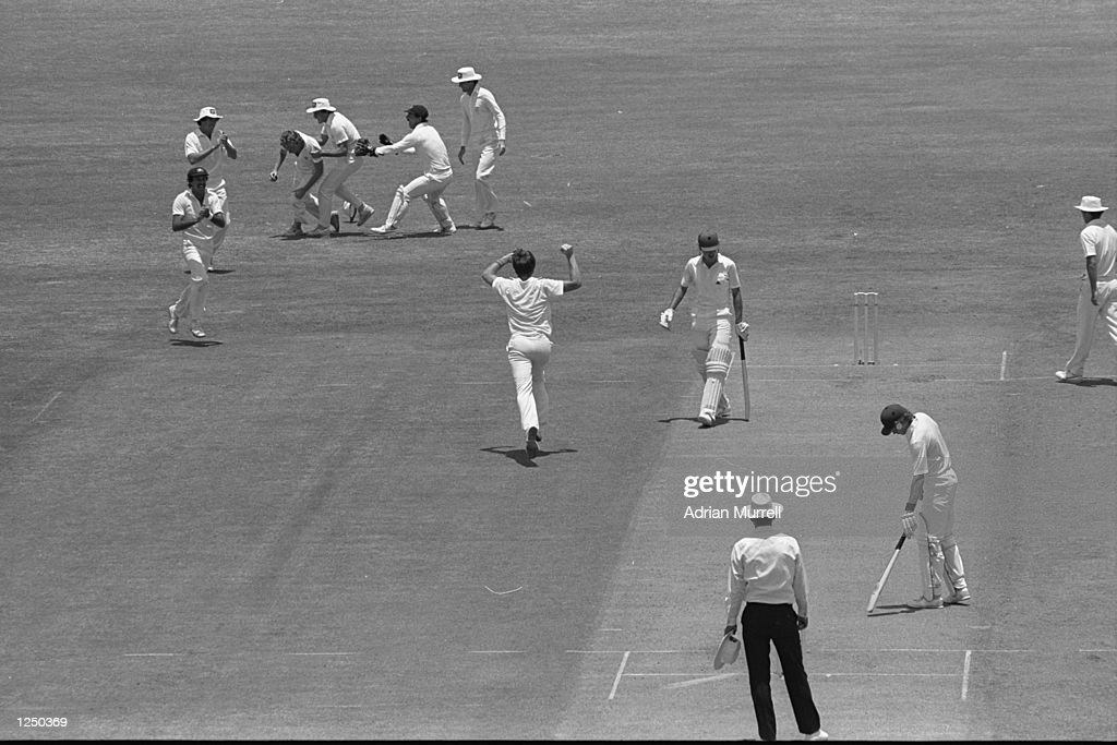 Eng v Aus 1982 : News Photo