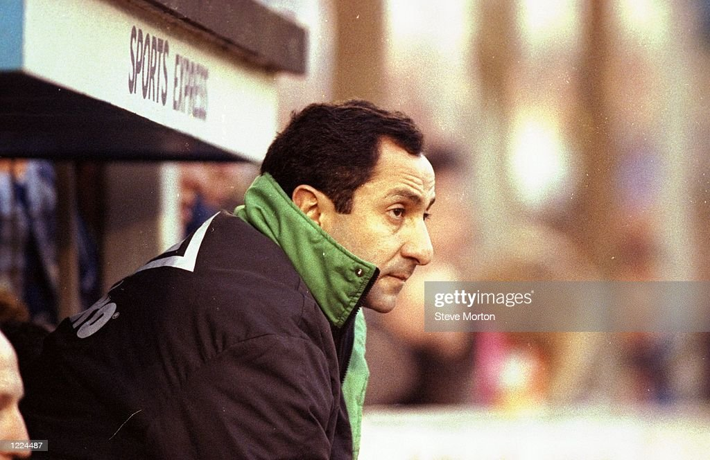 Newcastle United Manager Ossie Ardiles : News Photo