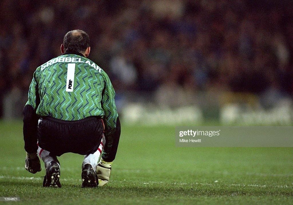 Southampton Goalkeeper Bruce Grobbelaar : News Photo