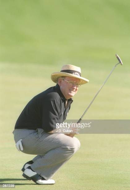 Bob Murphy looks on during the Diners Club Matches at the PGA West course in La Quinta California Mandatory Credit JD Cuban /Allsport