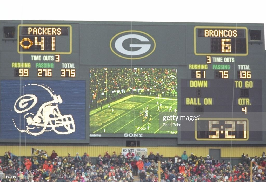 General View Of The Scoreboard During A Game Between The Denver News Photo Getty Images