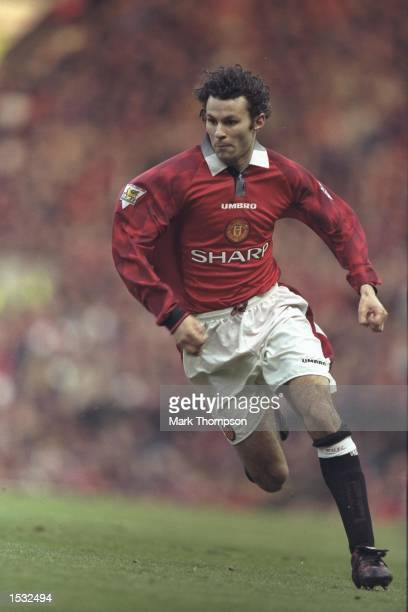 Ryan Giggs of Manchester United in action at the Premier League game against Sunderland at Old Trafford Manchester United won 50 Mandatory credit...