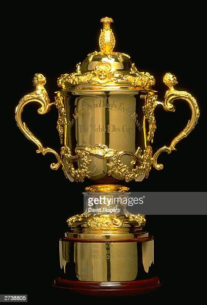 A feature of the 1999 Rugby World Cup Webb Ellis trophy in Cardiff Wales