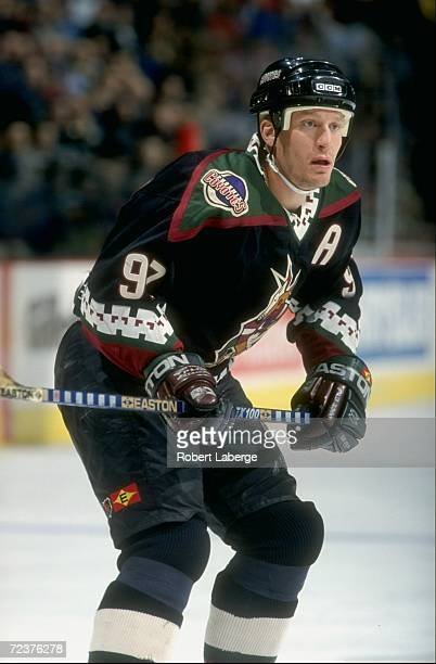 Center Jeremy Roenick of the Phoenix Coyotes in action during a game  against the Montreal Canadiens 08e7acbd0