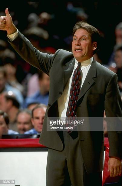 Head coach Tom Izzo of Michigan State Spartans looks on during the Great Eight Classic against the Duke Blue Devils at the United Center in Chicago,...