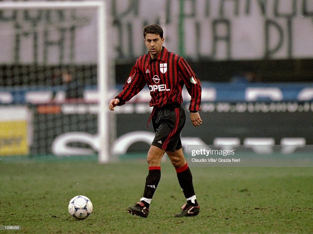 Alessandro Costacurta of AC Milan : News Photo