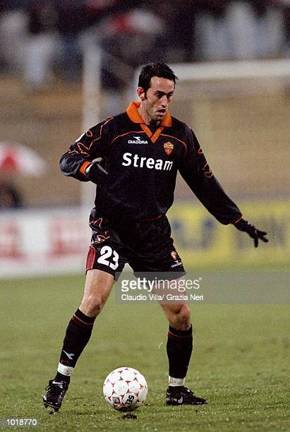Alessandro Rinaldi of Roma in action during the Coppa Italia match against Piacenza played in Piacenza Italy Roma won the game 30 Mandatory Credit...