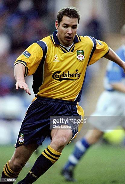 Darren Ferguson of Wrexham in action during the Nationwide Division Two match against Reading played at the Madjeski Stadium in Reading England The...