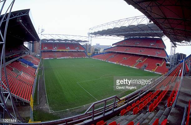 General view of the Stade du Pays du Charleroi in Charleroi Belgium One of the venues for Euro 2000 Mandatory Credit Dave Rogers /Allsport