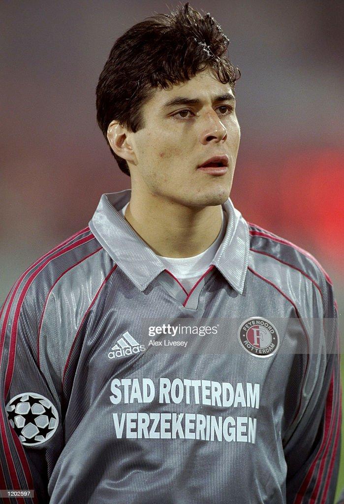 Julio Cruz of Feyenoord : News Photo