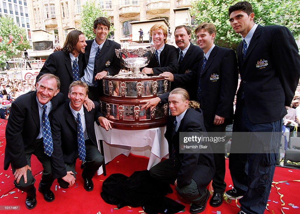 Davis Cup Parade : News Photo