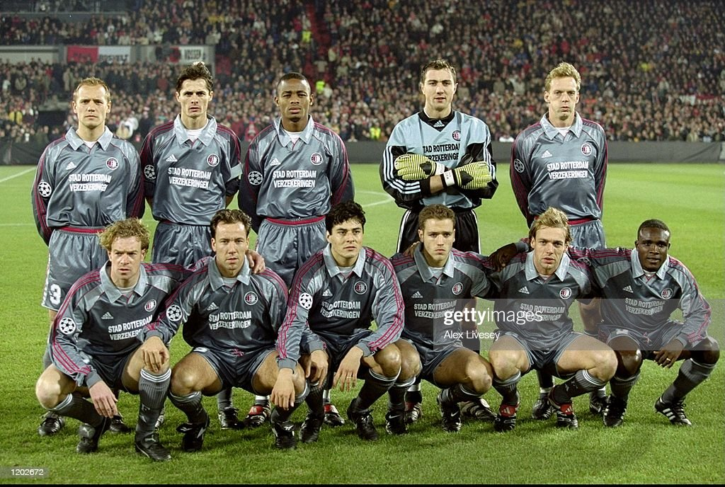 Feyenoord team : News Photo