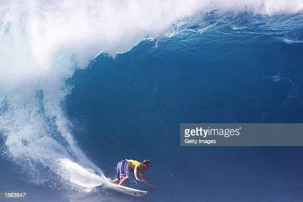 Australian Michael Lowe finished runner up in the Mountain Dew Pipe Masters at Pipeline on the North Shore of Oahu today Lowe faced Rob Machado of...