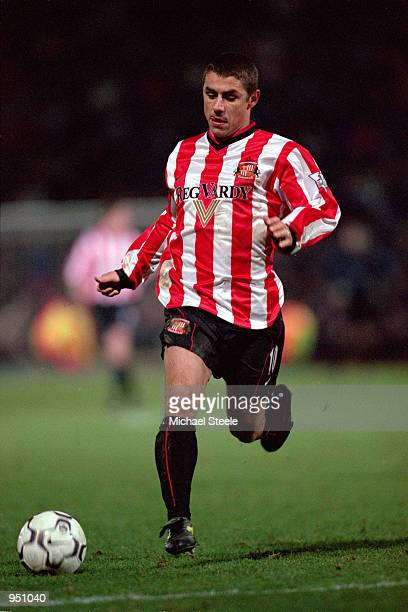 Kevin Phillips of Sunderland in action during the FA Carling Premier League match against Bradford played at Valley Parade in Bradford England...