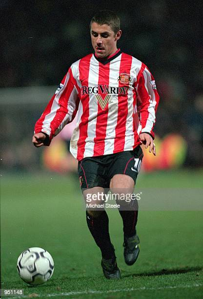 Kevin Phillips of Sunderland in action during the FA Carling Premiership game against Bradford City at Valley Parade in Bradford England Sunderland...