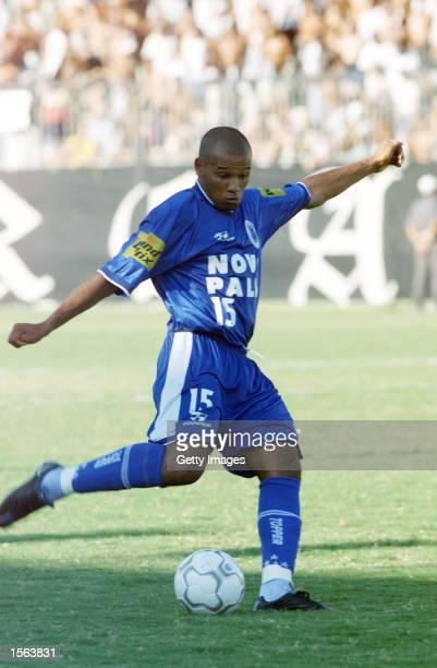 Marcos Paulo of Cruzeiro in action during the Vasco v Cruzeiro semi final match played at the Sao Januario Stadium Rio de Janeiro Mandatory Credit...