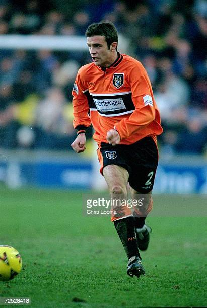 Richard Holmes of Notts County in action during the Nationwide Division Two match against Millwall played at the New Den in London Notts County won...