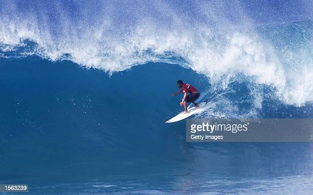 Rip Curl Cup Sunset Beach Oahu Hawaii 2000 Association of Surfing Professionals world champion Sunny Garcia clinched the 2000 Rip Curl Cup title at...