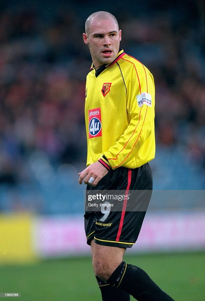 Tommy Mooney of Watford in action during the Nationwide Division One match against Crystal Palace played at Selhurst Park in London. Palace won the game 1-0. \ Picture by Steve Bardens. \ Mandatory Credit: Allsport UK /Allsport