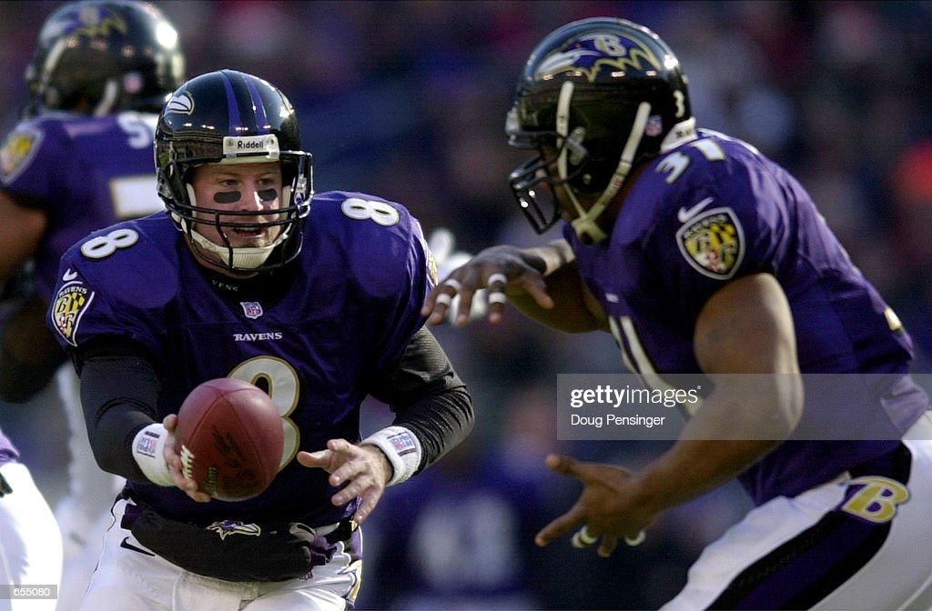 Jets v Ravens X Dilfer : News Photo