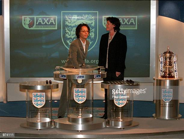 Womens FA Cup 4th round draw FA headquarters London Mandatory Credit Paul Severn/ALLSPORT