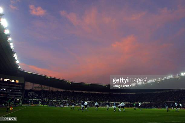 A general view of the FA Barclaycard Premiership match between Derby County and Bolton Wanderers at Pride Park Derby DIGITAL IMAGE Mandatory Credit...