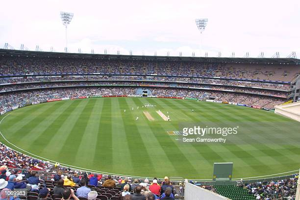 General view of the MCG during the Boxing Day Test match between Australia and South Africa at the Melbourne Cricket Ground in Melbourne Australia...