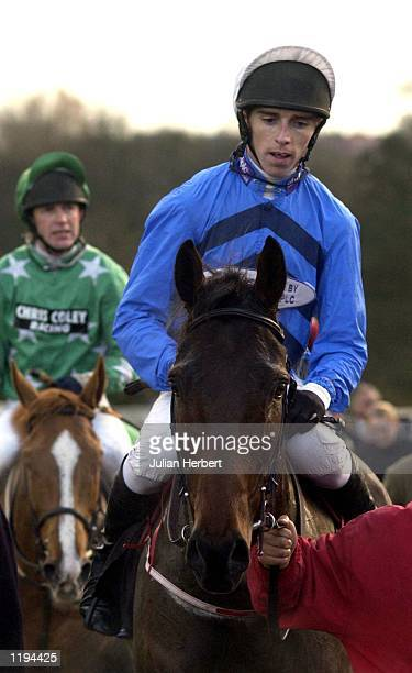 Leighton Aspell and Supreme Glory return after landing The Coral Eurobet Welsh National run at Chepstow. DIGITAL IMAGE Mandatory Credit: Julian...