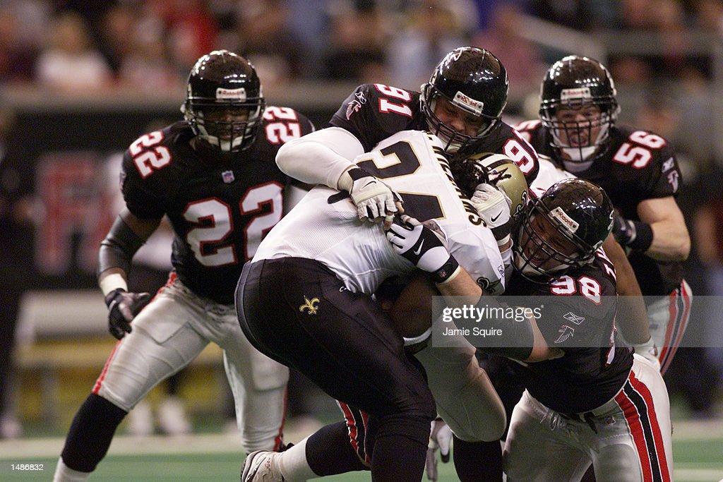 Saints v Falcons X : News Photo